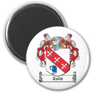 Todd Family Crest Magnets