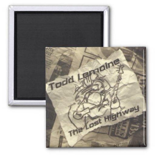 "Todd Lemoine imán ""de la carretera perdida"""