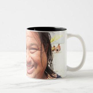 Todd Nasty Two-Tone Coffee Mug