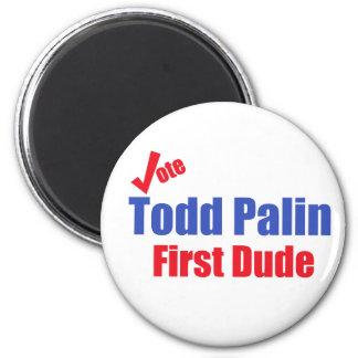 Todd Palin First Dude Magnet