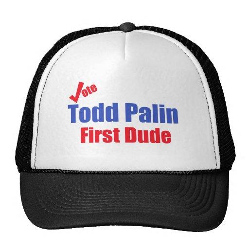 Todd Palin First Dude Trucker Hat