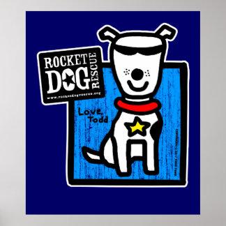 Todd Parr - White Dog Poster