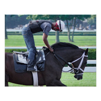 Todd Pletcher Morning Workouts at Saratoga Poster