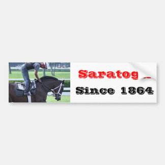 Todd Pletcher Opening Day Workouts Bumper Sticker