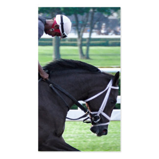 Todd Pletcher Opening Day Workouts Business Card
