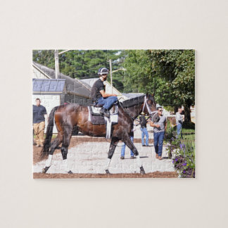 Todd Pletcher Stables Jigsaw Puzzle