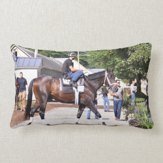Todd Pletcher Stables Lumbar Pillow