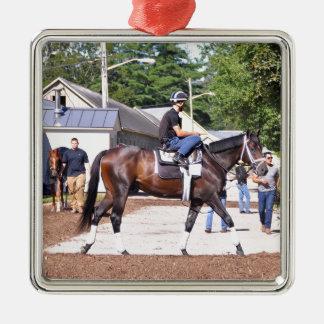 Todd Pletcher Stables Metal Ornament