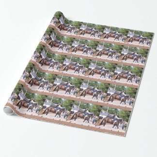 Todd Pletcher Stables Wrapping Paper