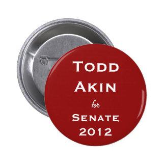 Todd relacionado para el botón del senado pin