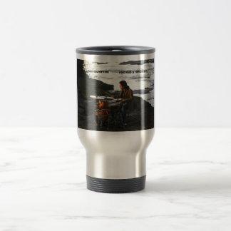 """Todd Sucherman """"Methods & Mechanics"""" travel Mug"""