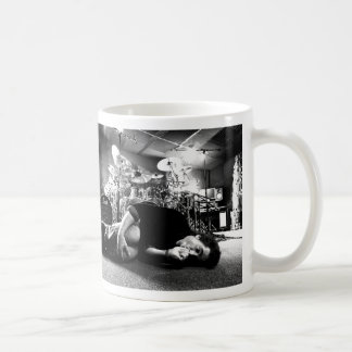 "Todd Sucherman ""Too Much Coffee"" large Coffee Mug"