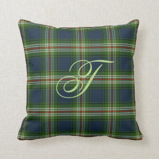 Todd Tartan Monogram Pillow
