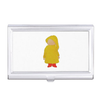 Toddie Time April Showers Rainy Day Toddler Business Card Holder