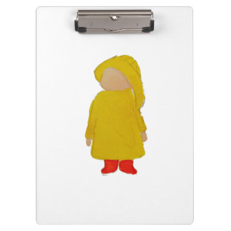 Toddie Time April Showers Rainy Day Toddler Clipboard