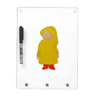 Toddie Time April Showers Rainy Day Toddler Dry-Erase Board
