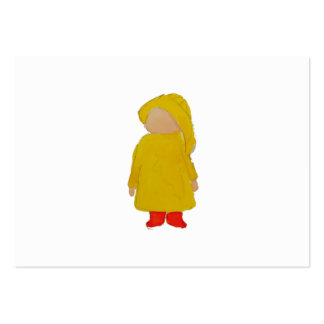 Toddie Time April Showers Rainy Day Toddler Large Business Card