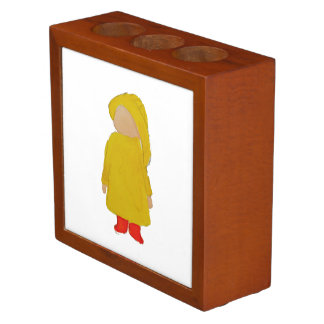 Toddie Time April Showers Rainy Day Toddler Pencil/Pen Holder