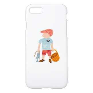 Toddie Time Summer Nantucket Fishing Holiday Boy iPhone 7 Case