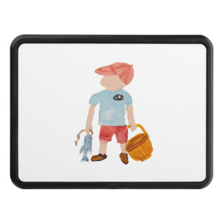 Toddie Time Summer Nantucket Fishing Holiday Boy Trailer Hitch Cover