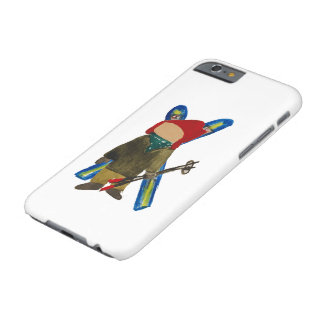 Toddie Time Winter Snow Days Toddler Skier Boarder Barely There iPhone 6 Case