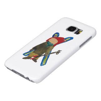 Toddie Time Winter Snow Days Toddler Skier Boarder Samsung Galaxy S6 Cases