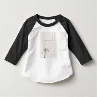 Toddle American Apparel 3/4 sleeve raglan T-Shirt