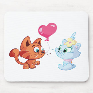 Toddle is in love mouse pad