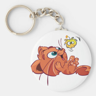 Toddle is playing keychain
