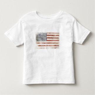 Toddle Tee with Cool USA Flag