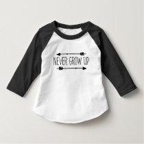 Toddler 3/4 Sleeve Raglan Quoted T-Shirt