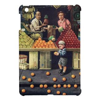 Toddler and Oranges iPad Mini Covers