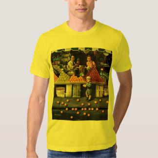 Toddler and Oranges Tee Shirt