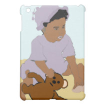 Toddler and Teddy iPad Case