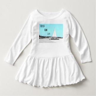 Toddler Beach Bum Life Ruffle Dress