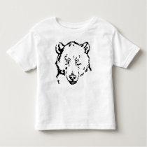 Toddler Bear Toddler T-shirt