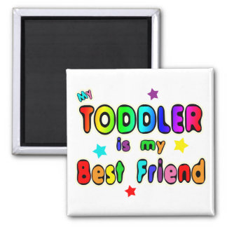 Toddler Best Friend Magnet
