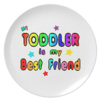 Toddler Best Friend Dinner Plate
