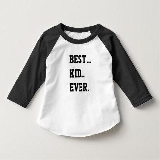 Toddler BEST KID EVER jersey by THATSTICKER T-Shirt