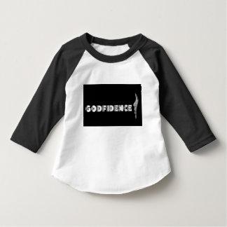 Toddler Black & White GODFIDENCE T-Shirt