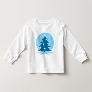 Toddler Christmas Shirt Blue Holiday Classic Top