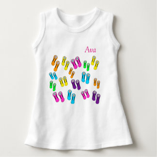 Toddler Dress Flip Flops