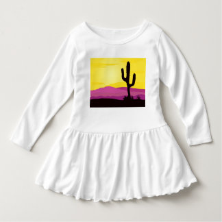 Toddler dress WHITE arizona