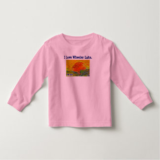 """Toddler Fish T-shirt """"Wheeler Lake"""" Alabama"""