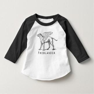 Toddler Fredlandia Winged Dog Top T Shirt