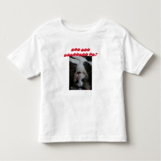 Toddler funny cat shirt (red text)