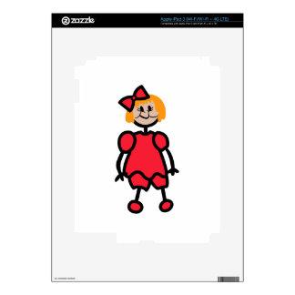 Toddler Girl iPad 3 Skins