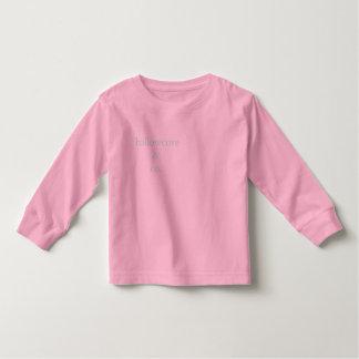 Toddler Girl's Pink Nautical Longsleeve Toddler T-shirt