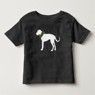 Toddler Great Dane Christmas Wreath Holiday Shirt