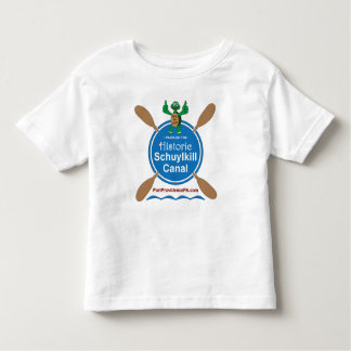 Toddler Historic Schuylkill Canal Jersey T-Shirt